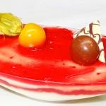Cheesecake με φράουλα