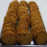 Μπισκότα βουτύρου από αλεύρι όλυρα με chocolate chips & αμύγδαλο