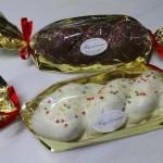 Οικογενειακά τσουρέκια με γέμιση και επικάλυψη σοκολάτας