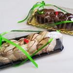 Πασχαλινά τσουρέκια με γέμιση και επικάλυψη σοκολάτας