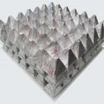 Πυραμίδες γάλακτος με γέμιση πραλίνας