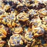 Σοκολατάκια με γέμιση πραλίνα