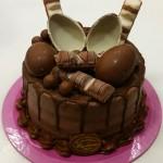 Τούρτα με σοκολατάκια κίντερ μπουένο, έκπληξη κλπ