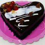 Τούρτα Σοκολατίνα σε σχήμα καρδιάς