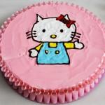 Τούρτα Hello Kitty ζωγραφιά