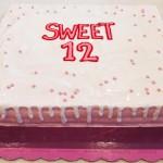 Τούρτα Sweet 12