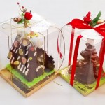Χριστουγεννιάτικα σπιτάκια και δεντράκια
