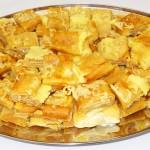 Κρέπες με ζαμπόν, τυρί & κρέμα γάλακτος