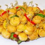 Σουδάκια με ζαμπόν & τυρί