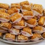 Φλογερίτσες με ανθότυρο & μέλι