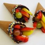 Χωνάκια φρούτων