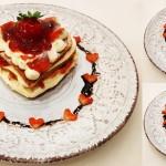 Pancake σε σχήμα καρδιάς 1